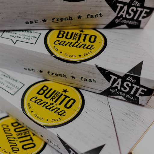 burrito cantina taste of mexico packaging