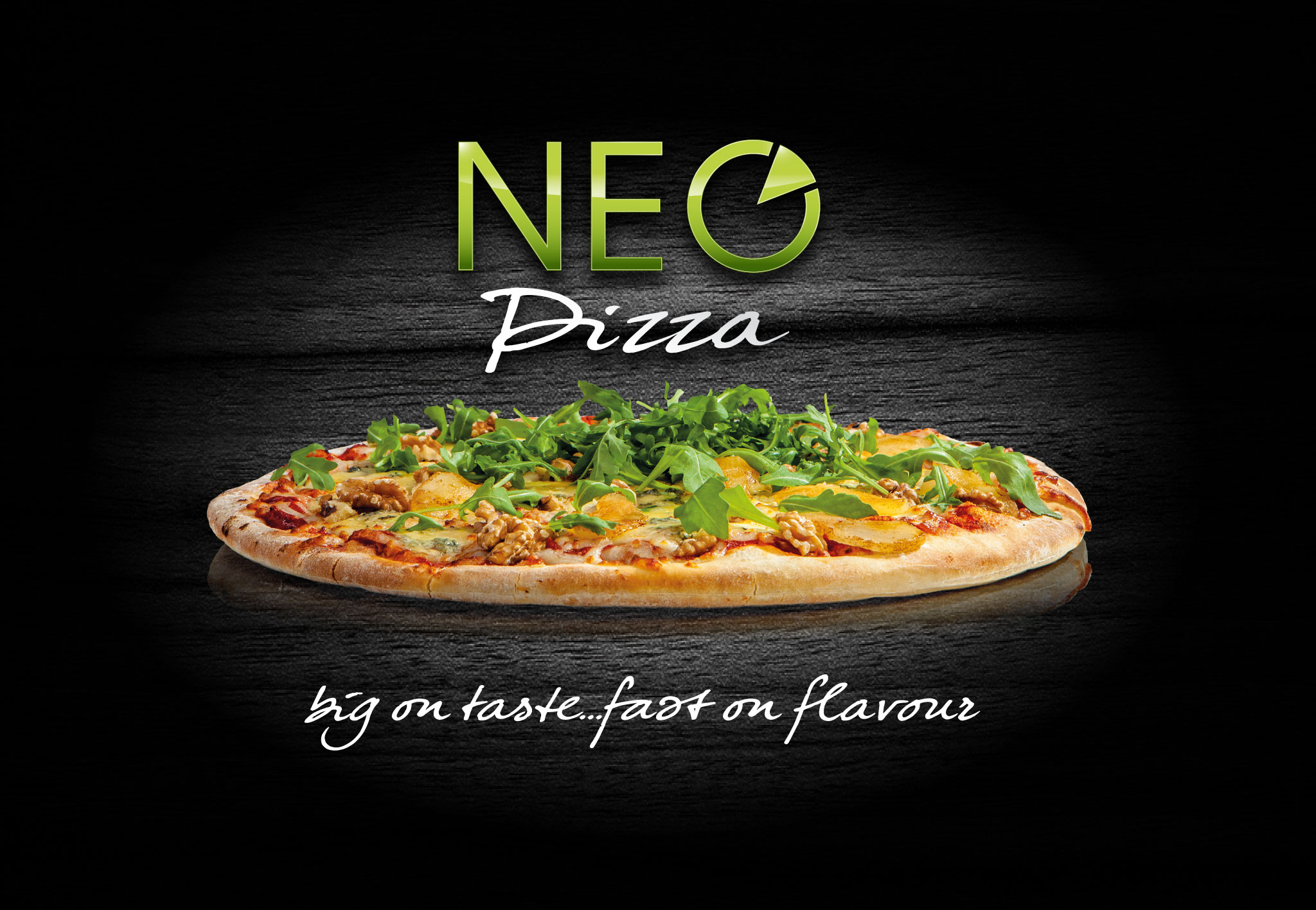 neo pizza branding big on taste