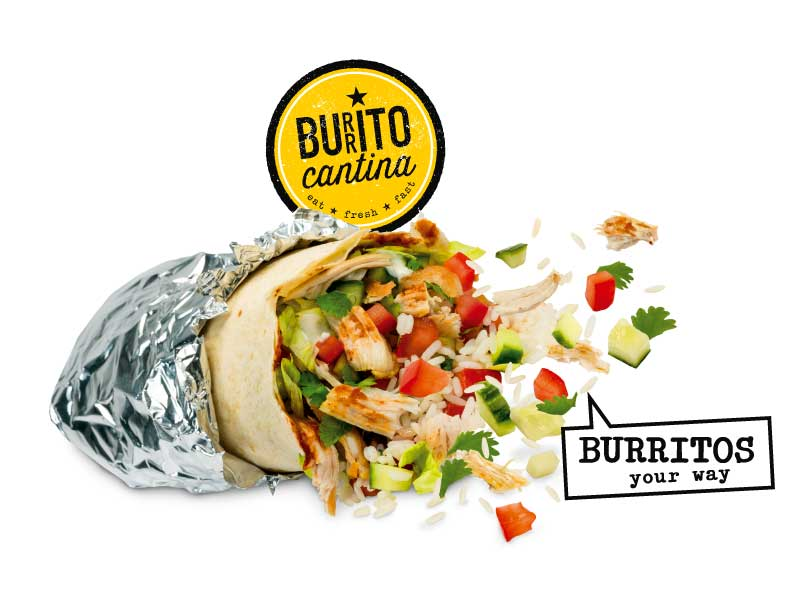 Burrito Cantina. Burritos Your Way